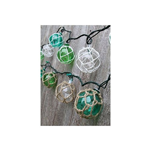Nautical Retro Glass-Style Buoy Plastic String Lights-Assorted Styles New