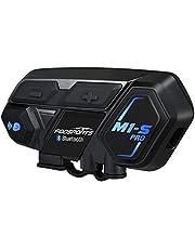 Bluetooth Headset Intercom,Motorcycle Communication Interphone for Motorbike and Skiing