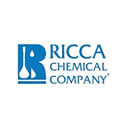 Ricca Chemical 5070-4 Methyl Red Indicator, 1% w/v Aqueous Solution, 120mL Poly Natural Container