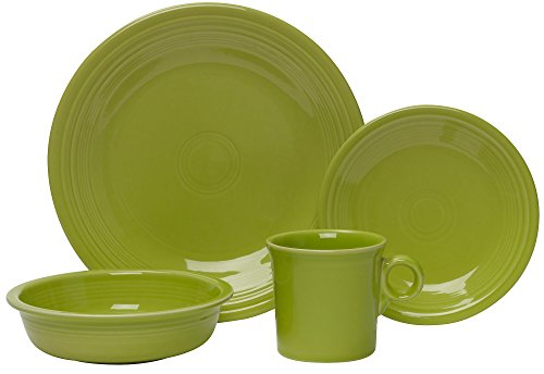 Fiesta 4-Piece Place Setting, - Laughlin Outlets