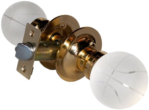 York 3609BPA Basketball Passive Doorknob, 2.5-Inch, Brass ()