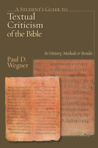 A Student's Guide to Textual Criticism of the Bible: Its History, Methods and Results PDF