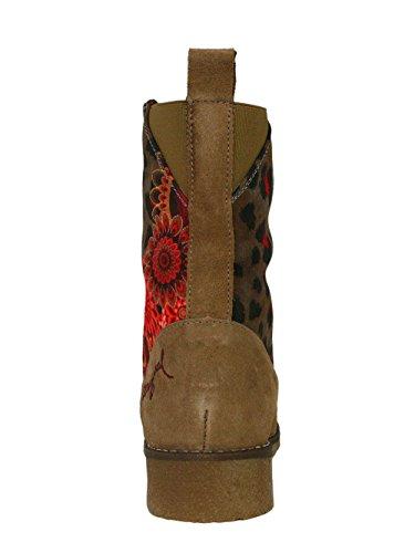 DESIGUAL Femme Designer Chaussures Boots -THE -
