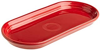 product image for Fiesta 12-Inch by 5-3/4-Inch Bread Tray, Scarlet