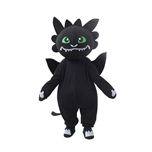 CosplayDiy Unisex Cartoon Mascot for How to Train Your Dragon Mascot Costume S -