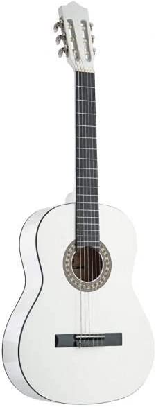 Stagg C542 WH - Guitarra clásica (tamaño 4/4), color blanco ...
