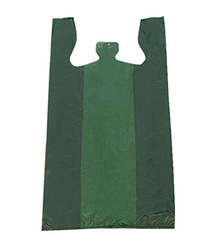 KC Store Fixtures 06137 Plastic T-Shirt Bag, High Density, 12