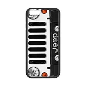 iPhone 6 6s Plus 5.5 Inch Cell Phone Case Blcak Jeep Car Logo Custom Case Cover 3YUI508798