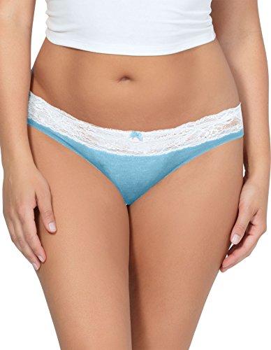 Parfait PP303 Women's Panty So Essential Sky Blue Knickers Bikini Sml