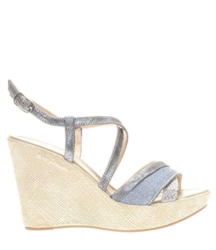 Nero P717622d Giardini Sandalo Donna Pelle Alto 214 Jeans In x0CqX