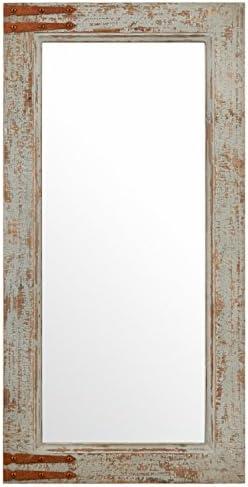 Amazon Brand Stone Beam Vintage-Look Rectangular Hanging Wall Frame Mirror Decor
