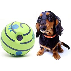 TeDUnaxxme Toy Chewing Sound Ball Funny Pets Dog Cat Wobble Wag Chewing Sound Ball Puppy Playing Training Toy
