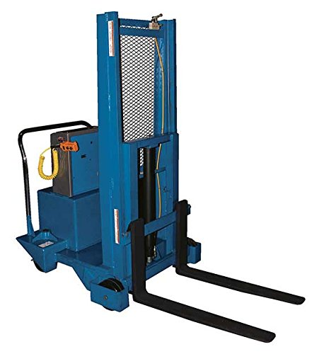 Manual Lift Truck - BCB-PMPS Series; Power: Air; Capacity (LBS): 600; Service Range: 3'' to 60''; Overall Lowered Height: 83-1/2''; Overall Raised Height: 91''; Fork Size (W x L): 4'' x 36''