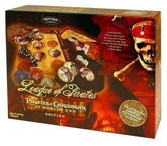 Pirates Of The Caribbean Dice Game - League of Pirates, Pirates of the Caribbean Board Game