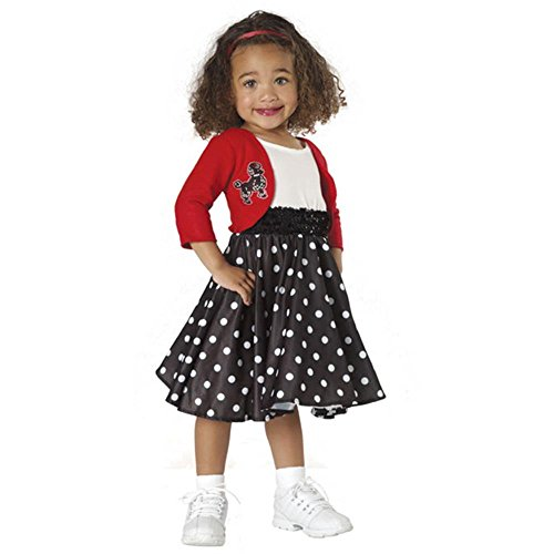 Polka Dot Rocker Infant Poodle Skirt -
