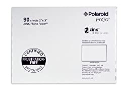 Polaroid Aza-09011f Pogo 90 Pack Zink Photo Paper
