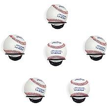 Wallniture Sporta Baseball Display Memorabilia Holder Heavy-Duty Wall Mount Rack for Collectibles Steel