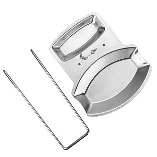 Kitchen Spoon Rest and Pot Lid Holder, Stainless Steel Pan Pot Cover Lid Rack Shelf Stand Holder Spoon Holder Utensil Rest Stove… pot lid holders
