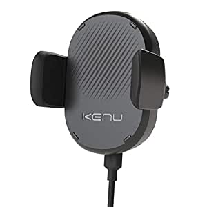 KENU AIRFRAME WIRELESS CHARGING VENT MOUNT FOR WIRELESS CHARGE MOBILES - BLACK