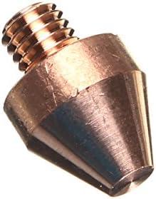 Queenwind 1/8 インチ銅電気フィットスポット溶接フラットヘッドナットストレート電極380A