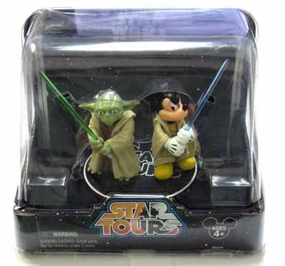 Jedi Mickey & Yoda Star Tours 2-Pack -