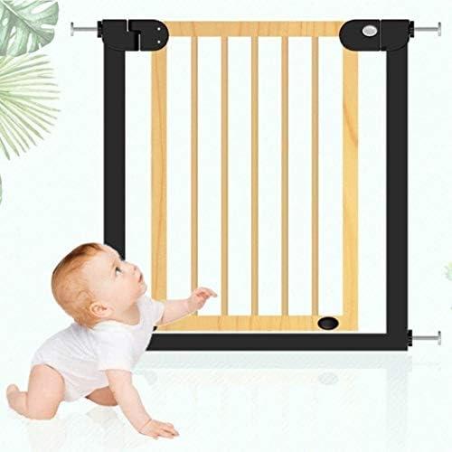 JN Safety Door Baby Gate Baby Guardrail Stair Railing Child Safety Gate Bar Baby Kitchen Fence Fence Door Baby Safety Door