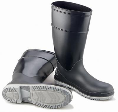Onguard Industries Size 12 Goliath Black Polyblend® Chemical Resistant Knee Boots With Power-Lug Outsole, Steel Toe And Removable Insole