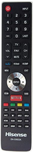 New Smart Internet TV Remote Control EN-33922A for Hisense S
