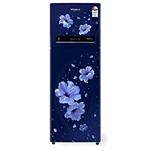 Whirlpool 292 L 2 Star Inverter Frost-Free Double Door Refrigerator (IF INV CNV 305 SAPPHIRE HIBISCUS 2S, Sapphire…