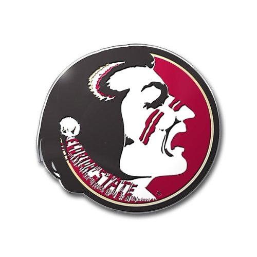 Auto State Florida - Team ProMark NCAA Florida State Seminoles Die Cut Color Auto Emblem