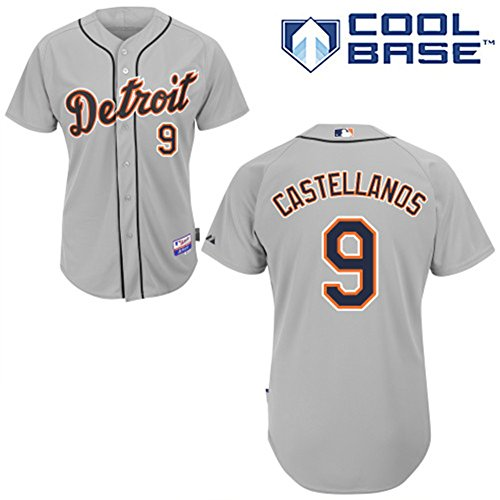 9-Nick-Castellanos-Jersey-Detroit-Jerseys-Baseball-Jersey-Mens