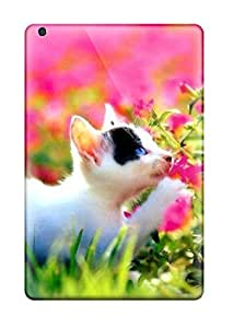 Tpu Shockproof/dirt-proof Cute Cat Desktop Cover Case For Ipad(mini/mini 2)