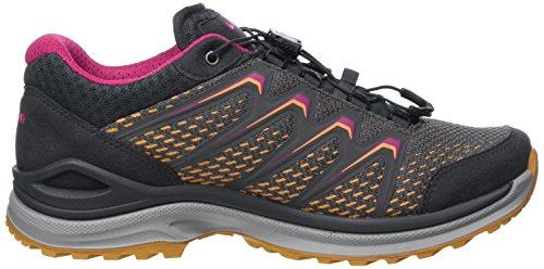 WS Lo Lowa 9017 Femme Mandarine Maddox Chaussures Grau Randonnée Hautes de GTX Gris xnx6SZCT
