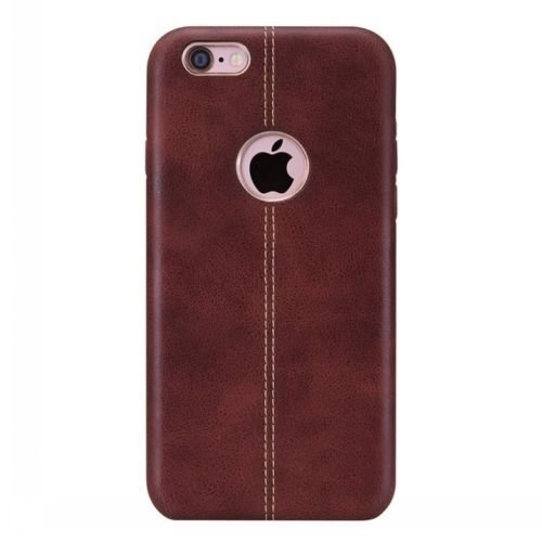 Vorson Leather Shell Back Cover for Apple iPhone 6s   Brown