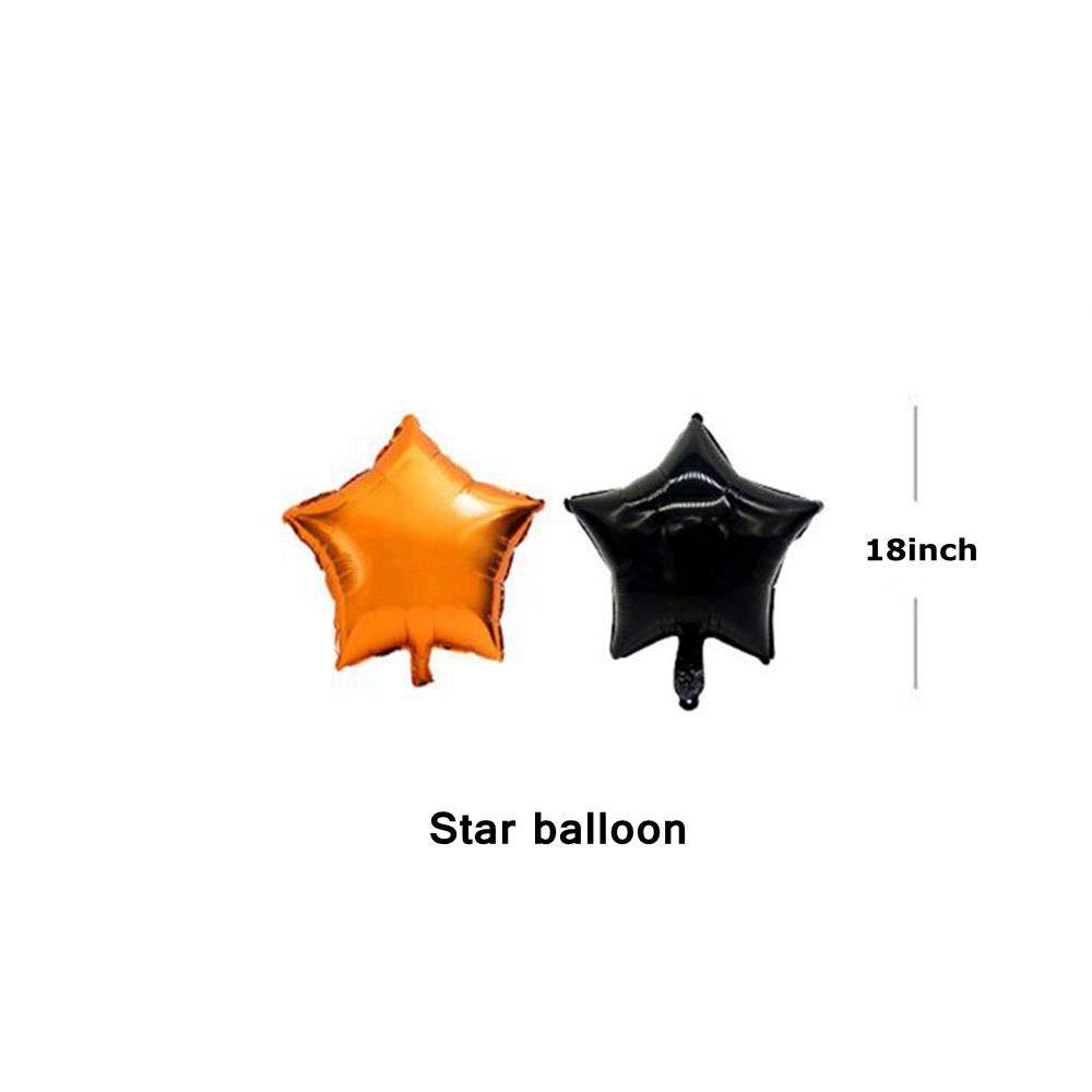 Ballon dhalloween Ballons Araign/ée et Citrouille NUOMAN Ensemble D/écoration Halloween Compris Happy Halloween Banni/ère 38PCS D/écoration de F/ête dhalloween