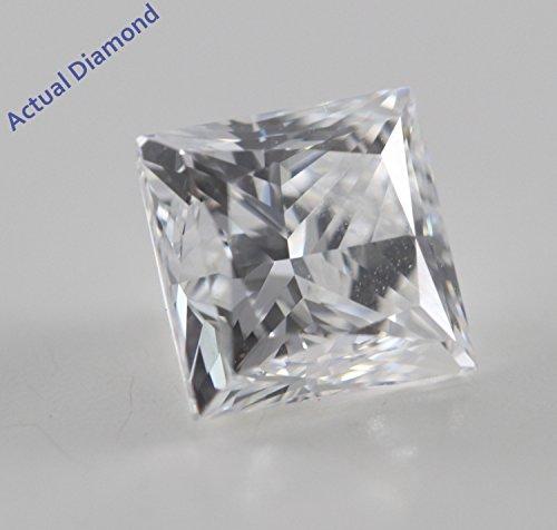 Diamant Princesse taillés (1.01 Ct, F Couleur,VVS2 Clarté) GIA Certifié