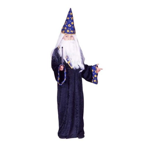 RG Costumes Black Mage Costume, Blue/Yellow, -