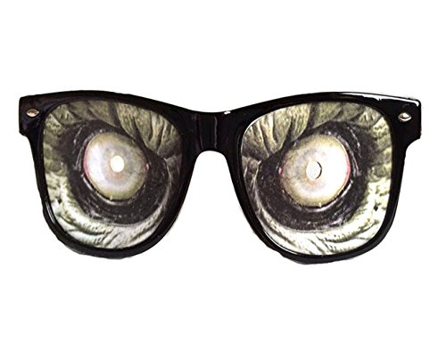 Halloween Themed Party Glasses Funny Eyewear Props Party Decorations, Zombie Masks Glasses