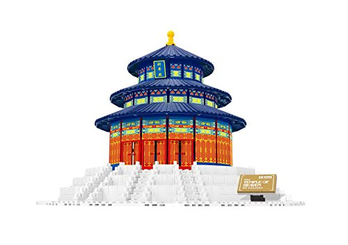 Wange Building & Construction 8020 The Temple of Heaven China Building Blocks (758 Piece)