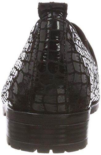 Femme Mocassins Croco blk Noir 24351 Comb 41 Caprice H1yFqBWn