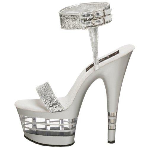 Pleaseradore Gltr slv 778ln Slv Destalonados Zapatos Mujer 4w4nqrS