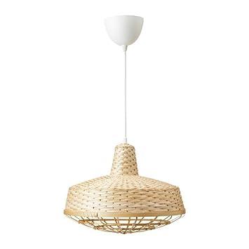 Ikea Industriell Anhanger Lampe Bambus 003 963 55 Grosse 40 6 Cm