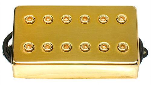 Amazon.com: DIMARZIO DP100 Super Distortion Humbucker Pickup Gold ...