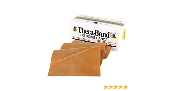 Theraband Free Shipping Thera-Band Gold by the FOOT Max--Resistance Slingshot