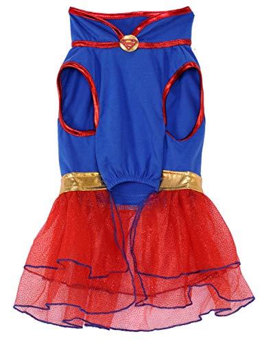 Picture of DC Comics Super Girl Pet Tutu Dress, X-Large