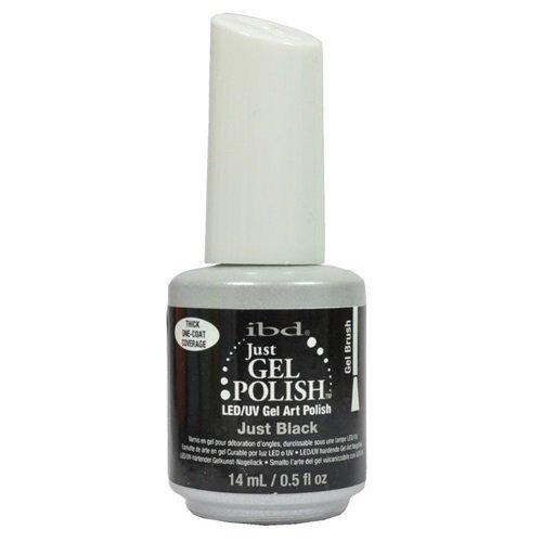 IBD Just Gel Polish - LED/UV Gel Art Polish - Just Black 569