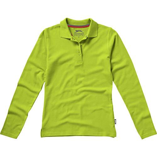 Slazenger Damen Point Langarm Polo Shirt