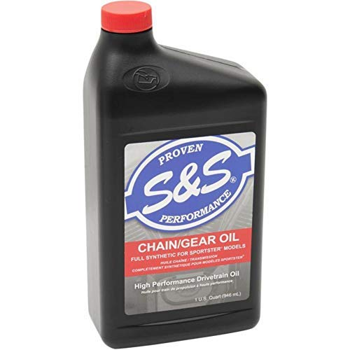 S&S Cycle High Performance Full Synthetic Sportster Chain/Gear Oil - 1 Qt. 153763