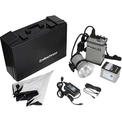Elinchrom EL 10287 Ranger RX Speed AS Set with A Head, Reflector, Varistar 2 Batteries and Ranger Case