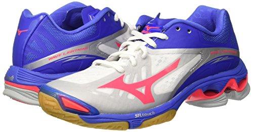 Chaussures Femme Mizuno Wave Lightning Z2 blanc/rose/bleu